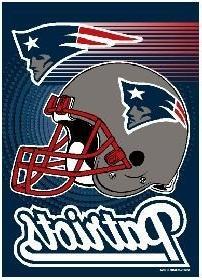 "NFL New England Patriots WCR08374013 Garden Flag, 11"" x 15"""
