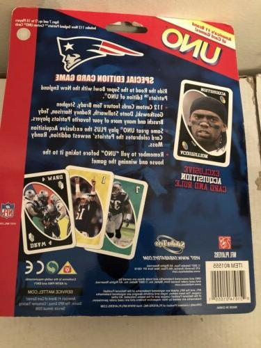 NFL Patriots Collectible Cards in Helmet NEW!