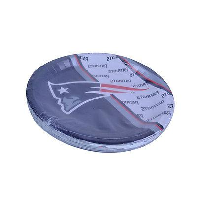 NFL New England Patriots Disposable Paper Plate