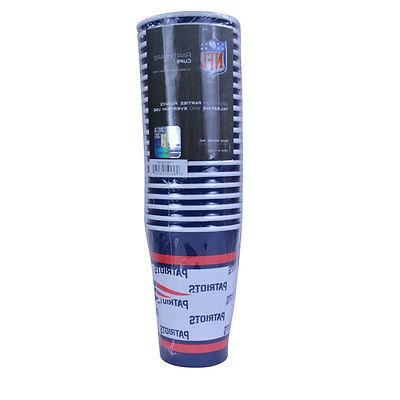 NFL New England Patriots Disposable Paper Cups