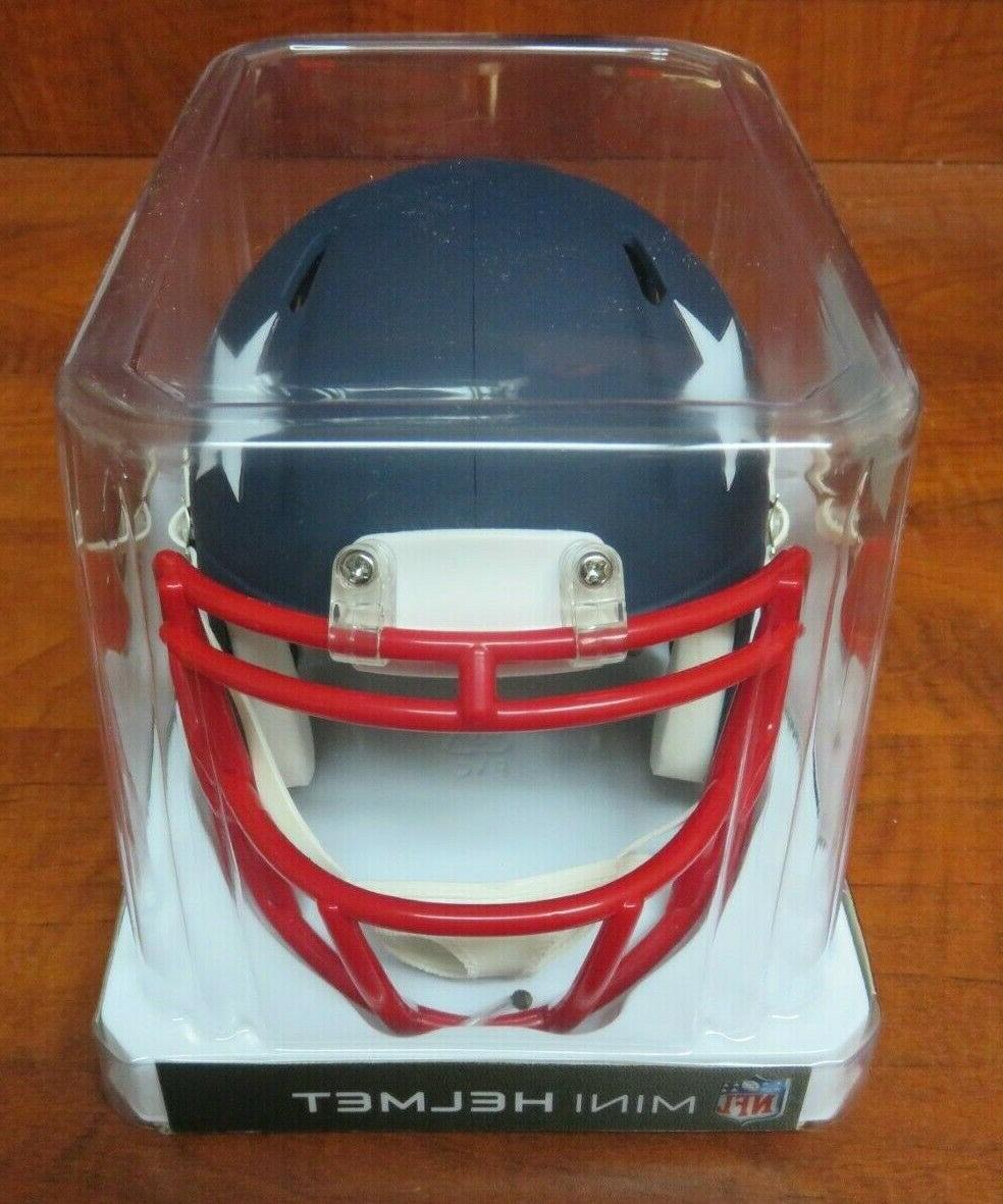 NFL NEW ENGLAND PATRIOTS RIDDELL AMP HELMET BOX