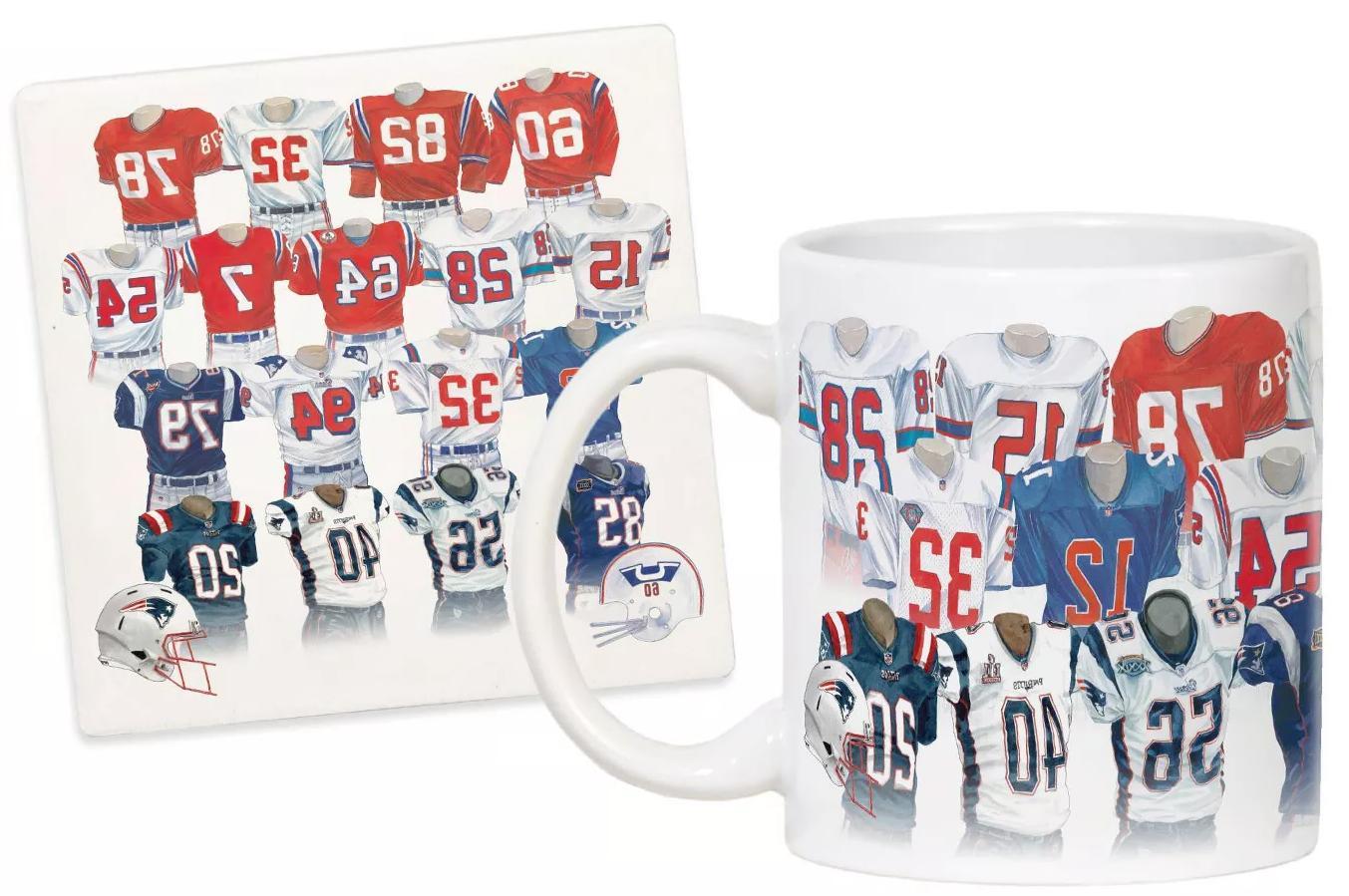 NFL Legacy Uniform Mug Coaster
