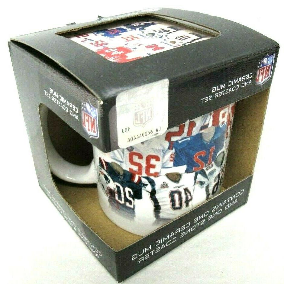 NFL New England Patriots Legacy Uniform Mug &