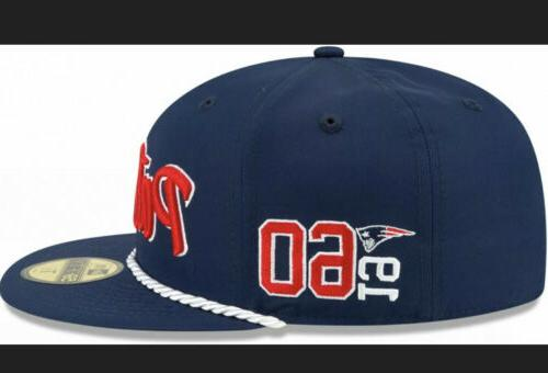 New Era - NFL New England Patriots Field Sideline Home Fitted Cap