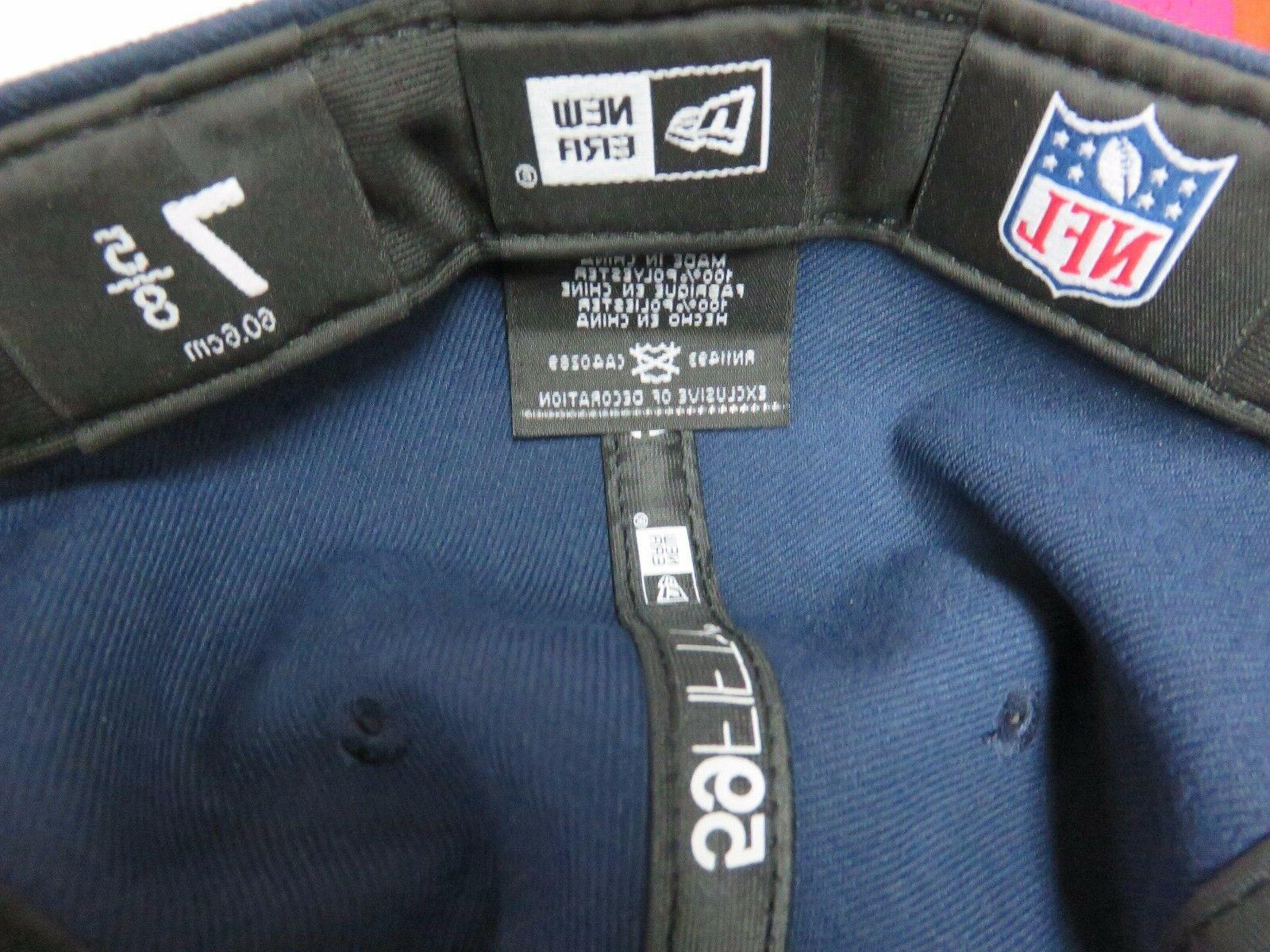 NFL NewEra 59Fifty England Official Field Sizes!!*