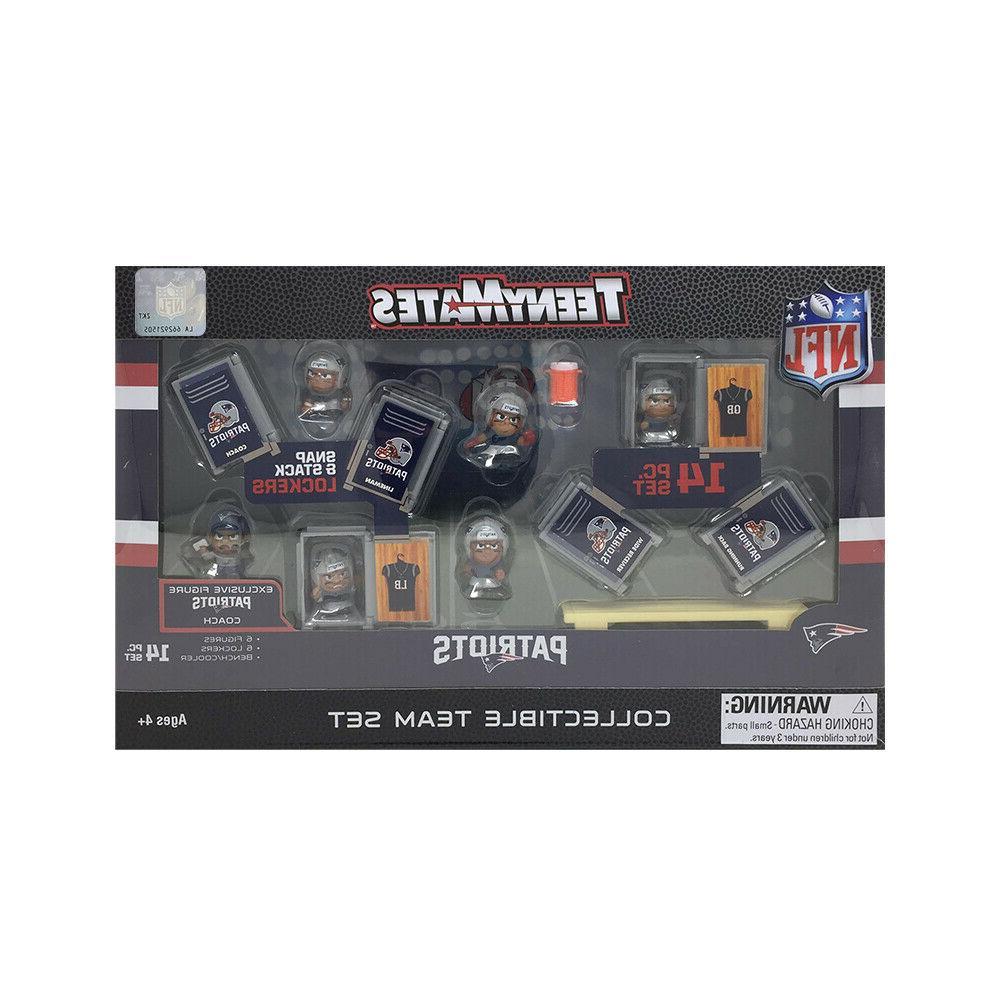 NFL TeenyMates Team Set New England Piece Set Release.