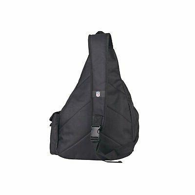 NWT NFL Patriots Slingbag Sling School Gym Backpack