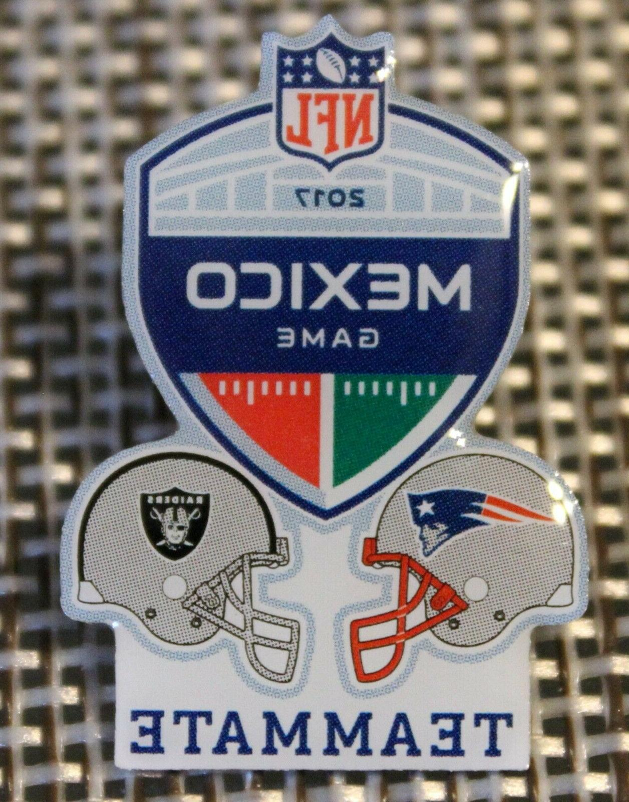 official 2017 nfl mexico game new england