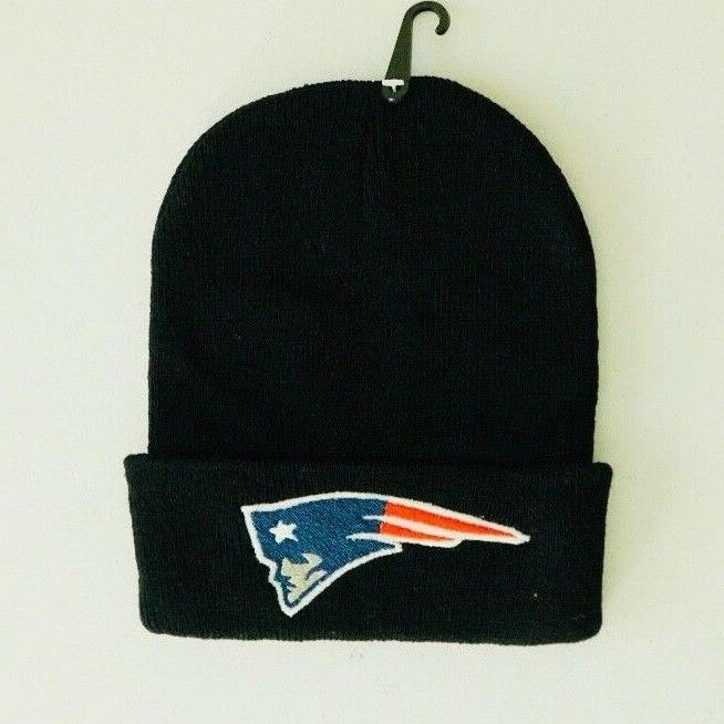patriots beanies with embroidered logo unisex nfl