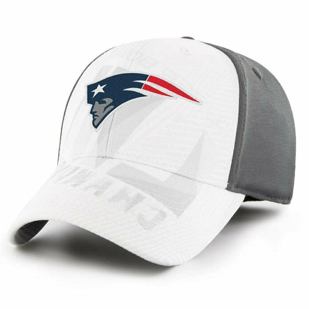 Rare Stretch Fit England Patriots Brand Super 53 Locker Hat