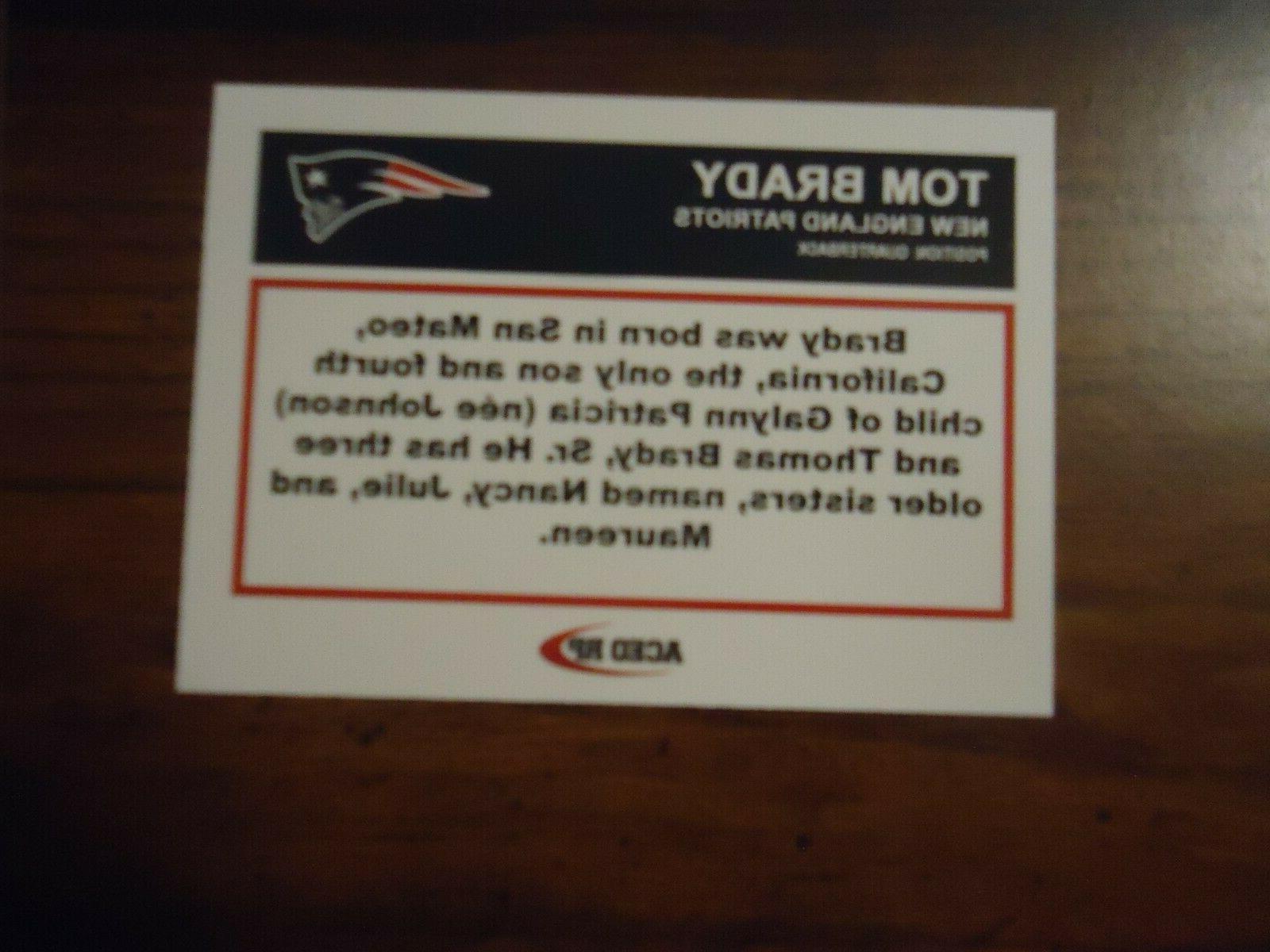 Tom Deck Style New England Patriots