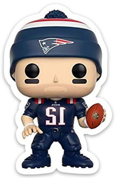 Tom Brady Bobblehead Cartoon New England Patriots Player #12
