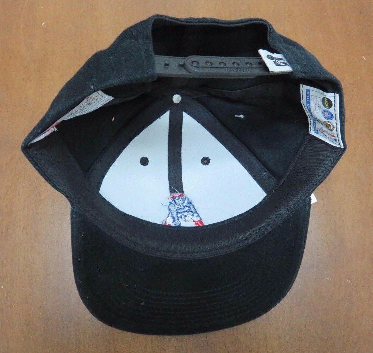 Vintage W/Tags NFL New England Patriots Black Hat By