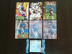 Lot of 7 Drew Bledsoe Football Cards - New England Patriots