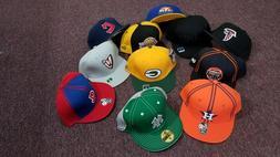 NBA NFL MLB Fitted Baseball Caps, Size 8, Reebok and New Era