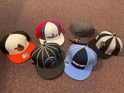 NBA NFL MLB Fitted Baseball Caps, Size 7-1/4, Reebok and New