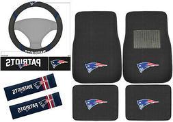 New 7pc Set NFL New England Patriots Car Truck Floor Mats St