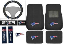 New 8pc Set NFL New England Patriots Car Truck Floor Mats St