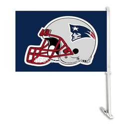 New England Patriot Double Sided Car Football Flags Banners