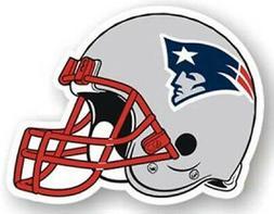 """New England Patriots 12"""" Helmet Car Magnet  NFL Vinyl Auto E"""