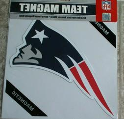 New England Patriots 12 INCH LOGO MAGNET ! FREE SHIPPING ! F