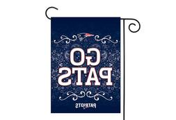 New England Patriots 13x18 Premium Stitched 2-Sided Outdoor