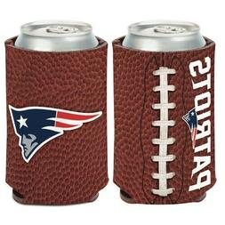 NEW ENGLAND PATRIOTS FOOTBALL CAN COOZIE / COOLER BRAND NEW