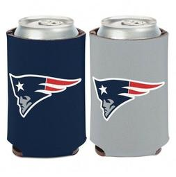 NEW ENGLAND PATRIOTS 2 SIDED CAN COOLER/KOOZIE NEW AND OFFIC