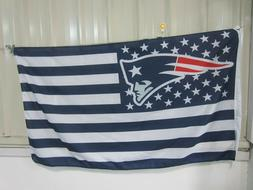 New England Patriots 3x5 Ft American Flag Football  New In P