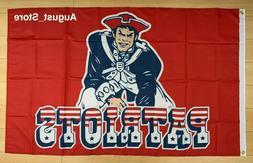 New England Patriots 3x5 ft Flag Banner NFL