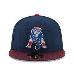 New Era New England Patriots 59Fifty Fitted Hat Sideline Alt