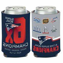 New England Patriots Super Bowl Champions Can Cooler