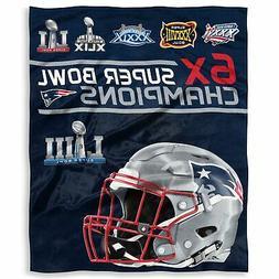 "New England Patriots 6X CHAMPIONS Super Bowl Champions 50"" x"