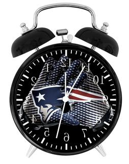 New England Patriots Alarm Desk Clock Home or Office Decor F