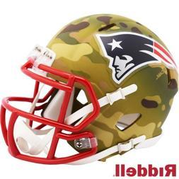 New England Patriots Alt Camo Riddell Speed Mini Helmet - Ne