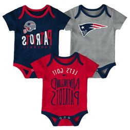 New England Patriots Baby Infant Little Tailgater Set of 3 R