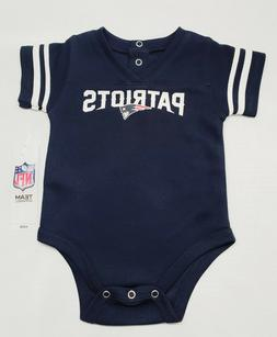 New England Patriots NFL Boys Baby/Infant Bodysuit Creeper J