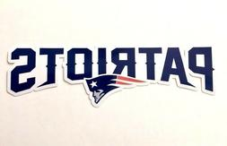 New England Patriots Car Bumper Laptop Digital Vinyl Die Cut
