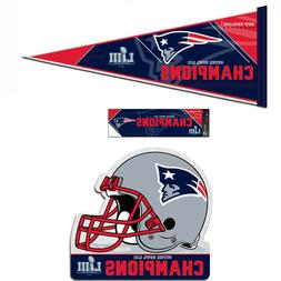 New England Patriots  Champions and Super Bowl LIII Felt Pen