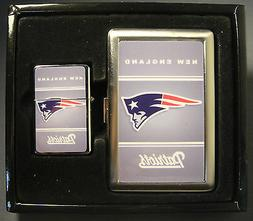 NEW ENGLAND PATRIOTS CLASSIC LOGO CIGARETTE CASE / WALLET AN