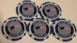 NEW ENGLAND PATRIOTS COLLECTIBLE POKER CHIP GOLF BALL MARKER