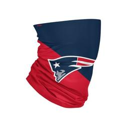 NEW ENGLAND PATRIOTS COLORBLOCK BIG LOGO GAITER SCARF FOCO F