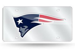 New England Patriots Custom Mirror License Plate - Auto Tag