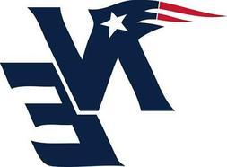 New England Patriots Decal ~ Car / Truck Vinyl Sticker - Wal