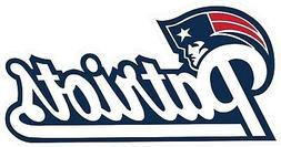 New England Patriots Decal ~ Car / Truck Window Vinyl Sticke