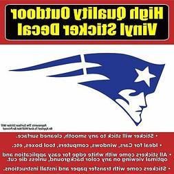 New England Patriots Die Cut Vinyl Car Window Laptop Bumper