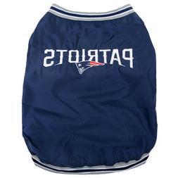 New England Patriots Dog Jacket LARGE Size L Football NFL Pe