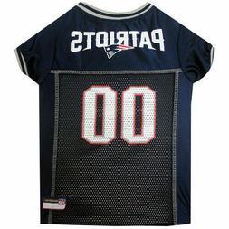 New England Patriots Dog Jersey LARGE Size L NFL Football Pe