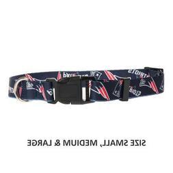 New England Patriots Dog Pet NFL Sports Collar