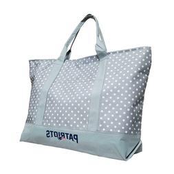 New England Patriots Dot Tote Bag
